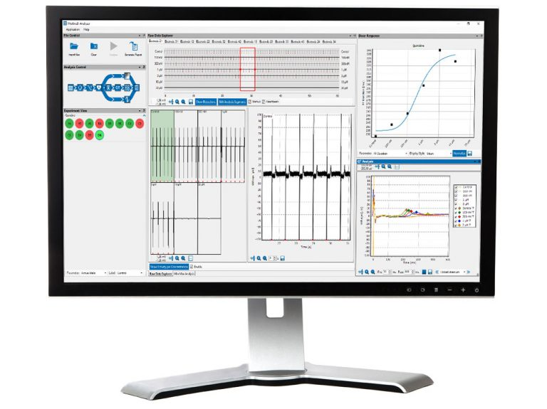 Multiwell-Analyzer cadio mode